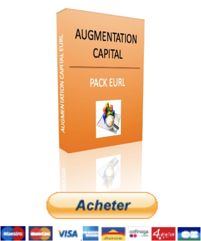 augmentation de capital EURL