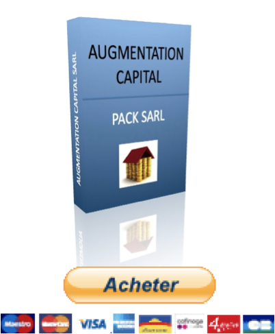 augmentation de capital SARL